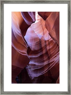 Upper Antelope Canyon  Framed Print by Pierre Leclerc Photography