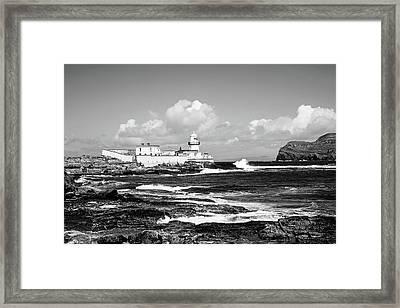 Valentia Island Light Framed Print by Scott Pellegrin