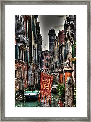 Venice Framed Print by Andrea Barbieri