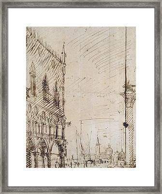 Venice Framed Print by Canaletto