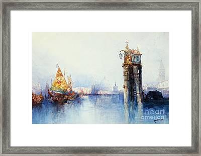 Venice Framed Print by Thomas Moran