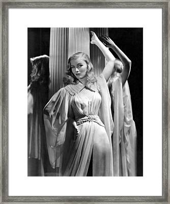 Veronica Lake, Paramount Pictures Framed Print by Everett