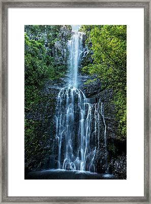 Wailua Falls Framed Print by Kelley King