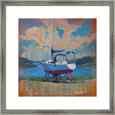 Waiting For The Weekend Framed Print by Donna Shortt
