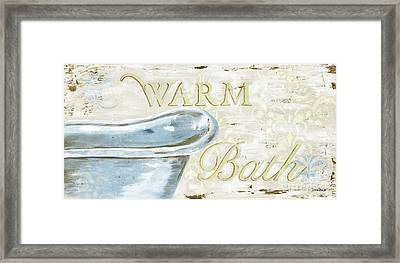Warm Bath 2 Framed Print by Debbie DeWitt