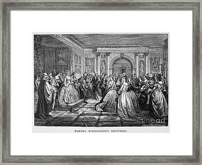 Washington Reception Framed Print by Granger