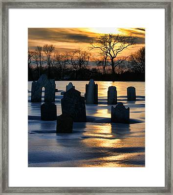 Watched Over Framed Print by Maggie McLaughlin