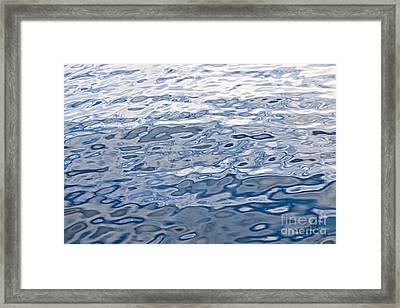 Water Surface Framed Print by Elena Elisseeva