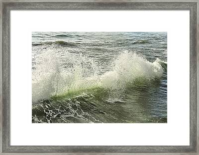 Waves Framed Print by Svetlana Sewell