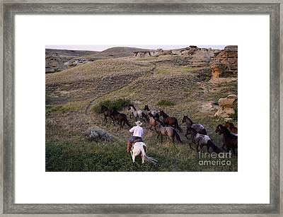 Western Living 1 Framed Print by Bob Christopher