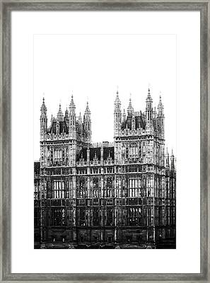 Westminster - London Framed Print by Joana Kruse