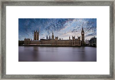 Westminster Framed Print by Martin Newman