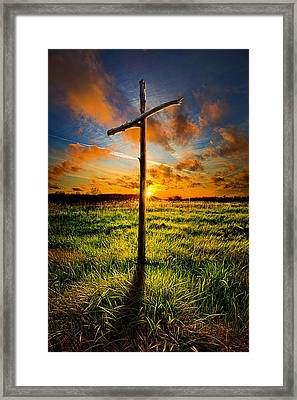What Will Be Will Be Framed Print by Phil Koch
