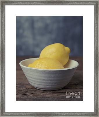 When Life Gives You Lemons Framed Print by Edward Fielding