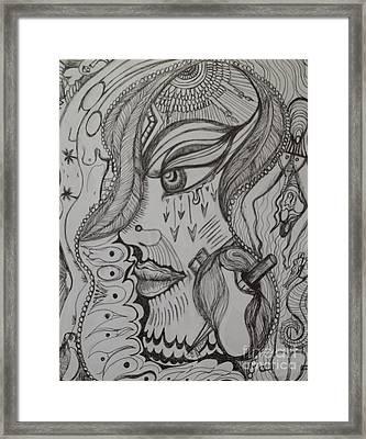 Where Framed Print by Anita Wexler