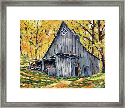 Where I Want To Be By Prankearts Fine Art Framed Print by Richard T Pranke