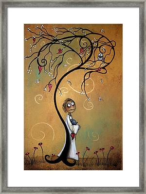 Whichever Way The Wind Blows Framed Print by Charlene Zatloukal