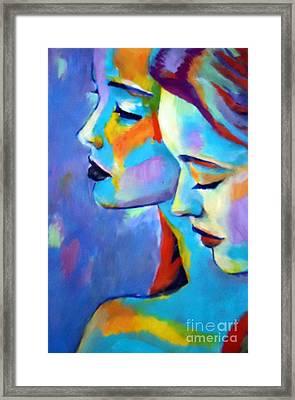 Whispers Framed Print by Helena Wierzbicki