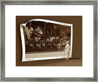 Window Dreaming Framed Print by Brian Wallace