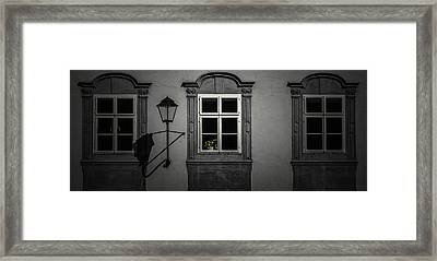 Window Garden Framed Print by Chris Fletcher