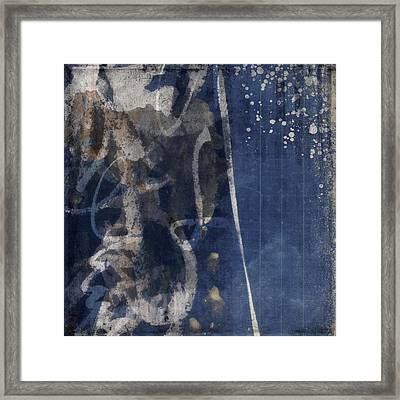 Winter Nights Series Six Of Six Framed Print by Carol Leigh