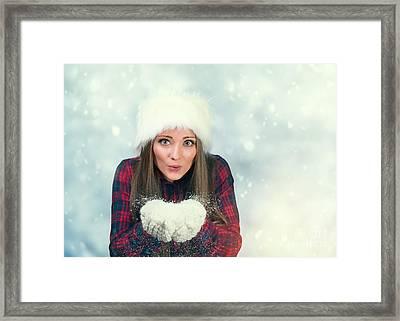 Winter Wonderland Framed Print by Amanda And Christopher Elwell