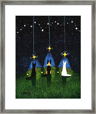 Wishing On A Star Framed Print by Todd Young