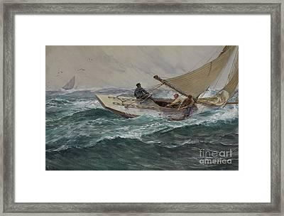 Youth Framed Print by Charles Napier Hemy