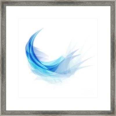 Abstract Feather Framed Print by Setsiri Silapasuwanchai