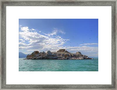 Lake Beysehir - Turkey Framed Print by Joana Kruse