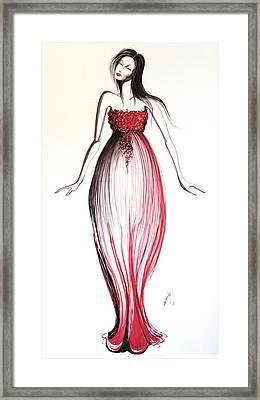 10 Framed Print by Malusa  Pinto