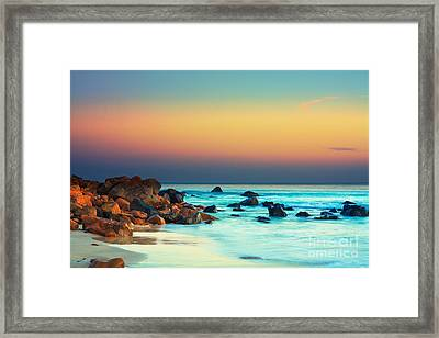 Sunset Framed Print by MotHaiBaPhoto Prints