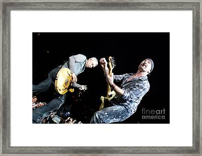 U2 Framed Print by Jenny Potter