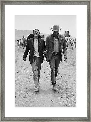 100 Rifles Framed Print by Terry O'Neill