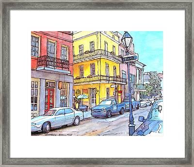 107 Framed Print by John Boles