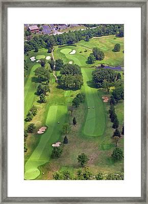 10th Hole 2 Sunnybrook Golf Club 398 Stenton Avenue Plymouth Meeting Pa 19462 1243 Framed Print by Duncan Pearson