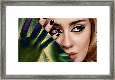Adele Collection Framed Print by Marvin Blaine