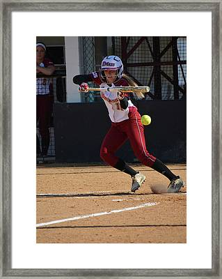 11 Bunts Framed Print by Mike Martin