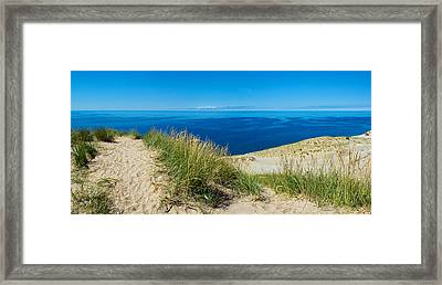 Sleeping Bear Dunes Framed Print by Twenty Two North Photography