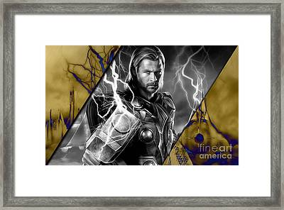 Thor Collection Framed Print by Marvin Blaine