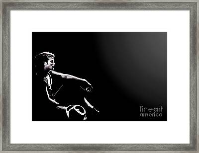 110. Just Leave Me Alone Framed Print by Tam Hazlewood
