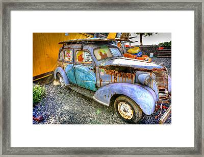 1154 Blast From The Past Framed Print by Steve Sturgill