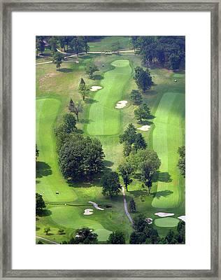 11th Hole Sunnybrook Golf Club 398 Stenton Avenue Plymouth Meeting Pa 19462 1243 Framed Print by Duncan Pearson