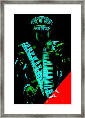 Elton John Collection Framed Print by Marvin Blaine