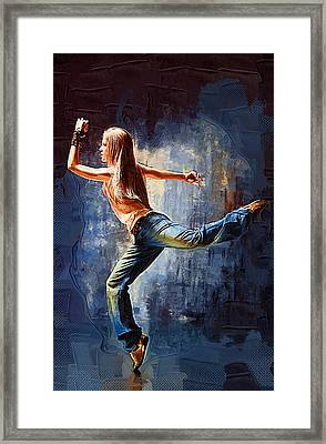 Just Dance Framed Print by Michael Vicin