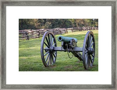 12 Pounder Napoleon Framed Print by James Barber