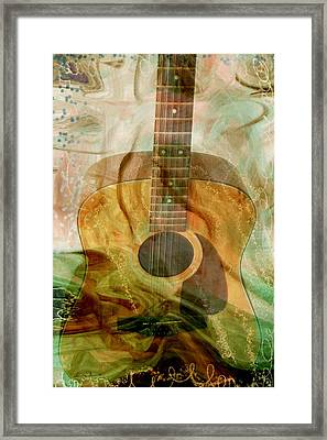 12 String Framed Print by Linda Sannuti
