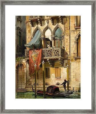 Venice Framed Print by Celestial Images