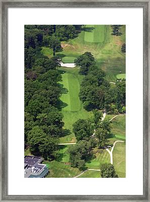 12th Hole Sunnybrook Golf Club 398 Stenton Avenue Plymouth Meeting Pa 19462 1243 Framed Print by Duncan Pearson