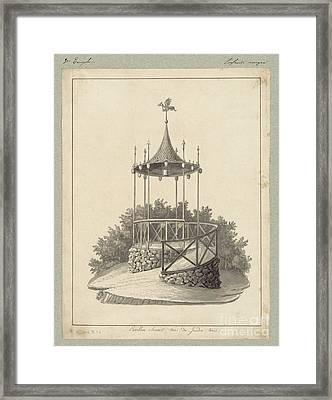 Drawn To Paris Framed Print by Celestial Images